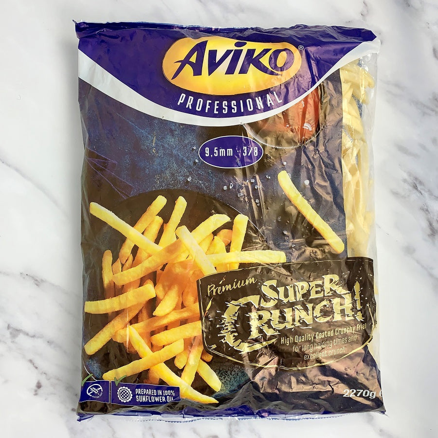 Aviko Super Crunch Fries 9.5mm - 4 x 2.27kg