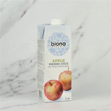 Biona Organic Apple Juice (NFC) - 6 x 1ltr