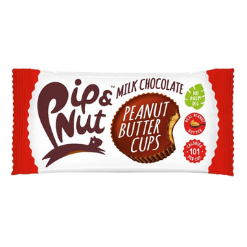 Pip & Nut Dark Chocolate Almond Butter Cups - 15 x 34g - Food Republic Services Ltd.