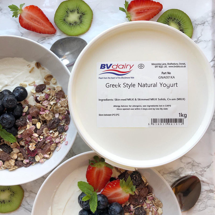 BV Dairy Greek Yoghurt - 1KG - Food Republic Services Ltd.