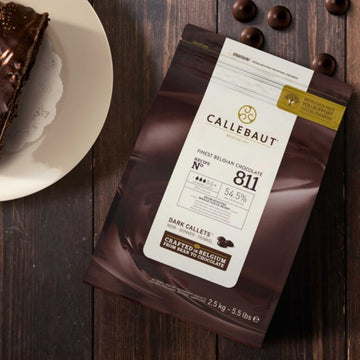 Callebaut Dark Chocolate Callets - 2.5kg - Food Republic Services Ltd.