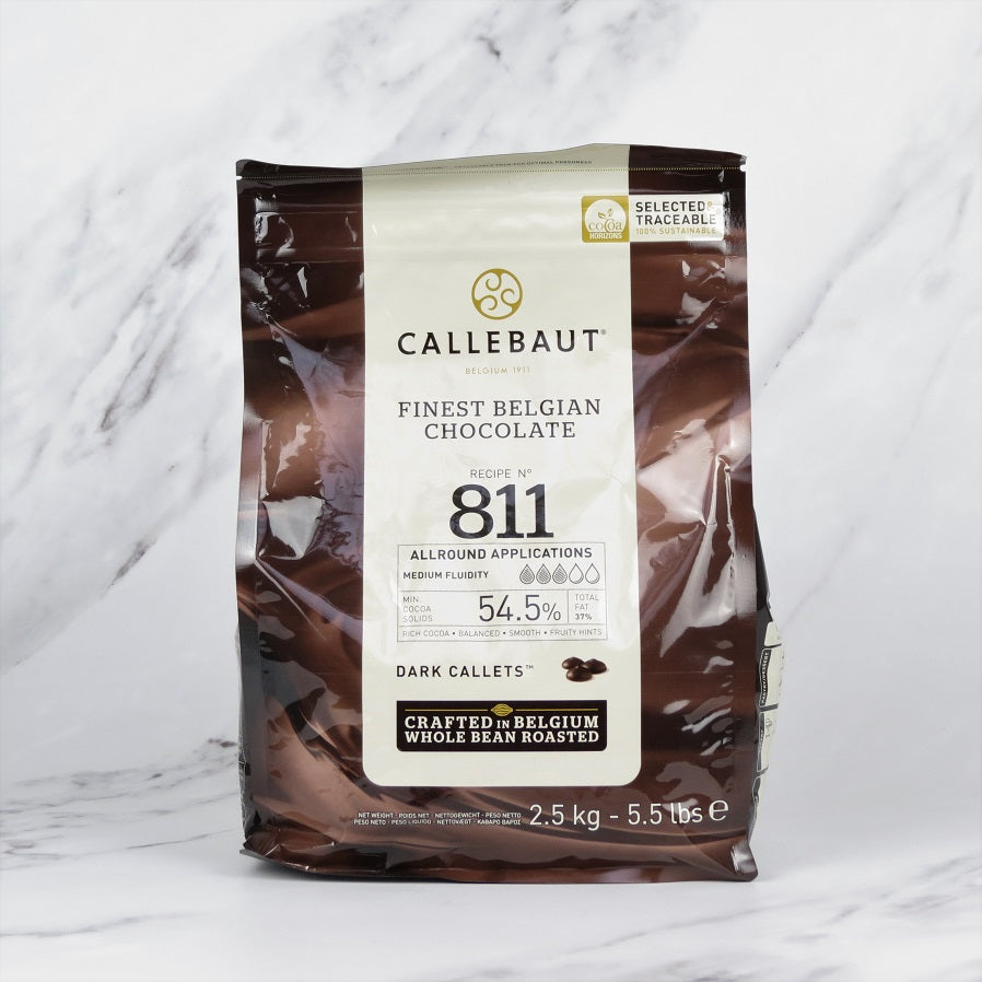 Callebaut Dark Chocolate Callets - 2.5kg