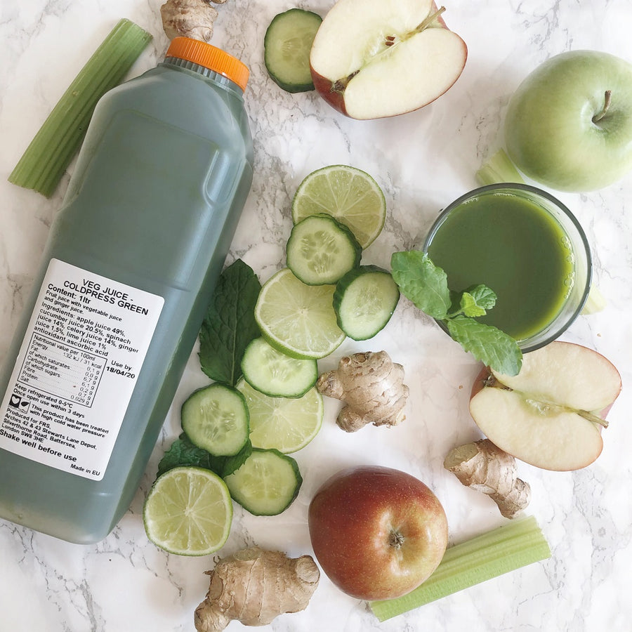 Coldpressed Green Juice - 1ltr - Food Republic Services Ltd.