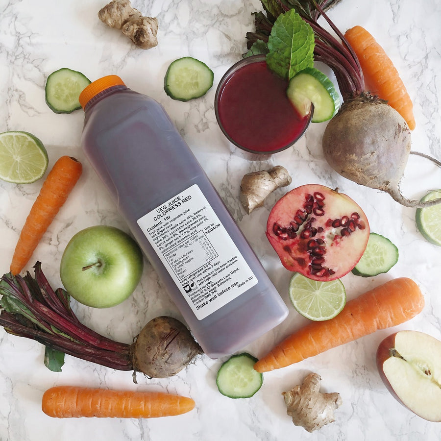 Coldpressed Red Juice - 1ltr - Food Republic Services Ltd.