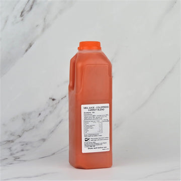 Coldpressed Orange, Carrot & Ginger Juice - 1ltr