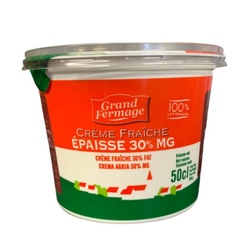 Creme Fraiche - 500g - Food Republic Services Ltd.