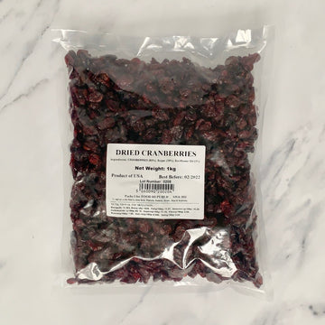 Dried Cranberries - 1kg