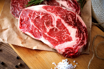 28 Day Dry Aged Ribeye Steak - 400g - Food Republic Services Ltd.