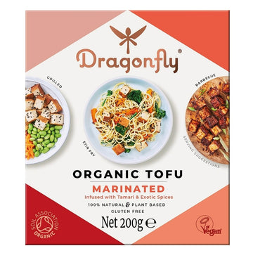 Dragonfly Organic Marinated Tofu - 200g