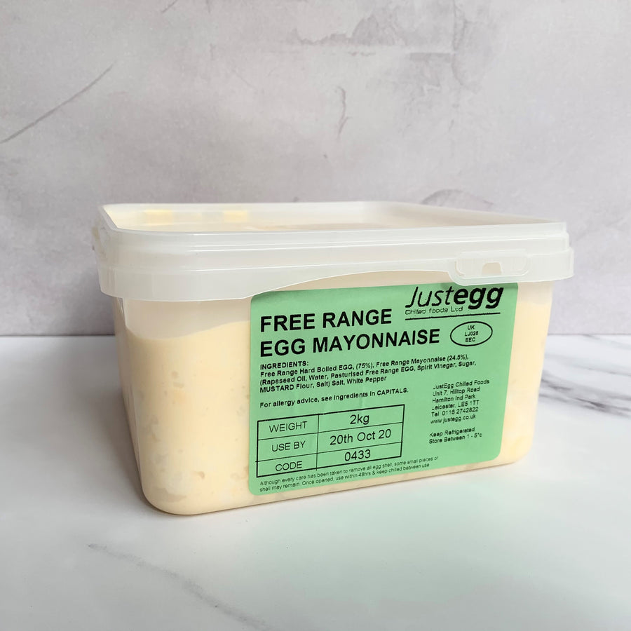 Free Range Egg Mayonnaise (Just Egg) - 2kg