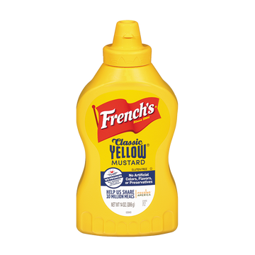 French's Yellow Mustard - 226g - Food Republic Services Ltd.