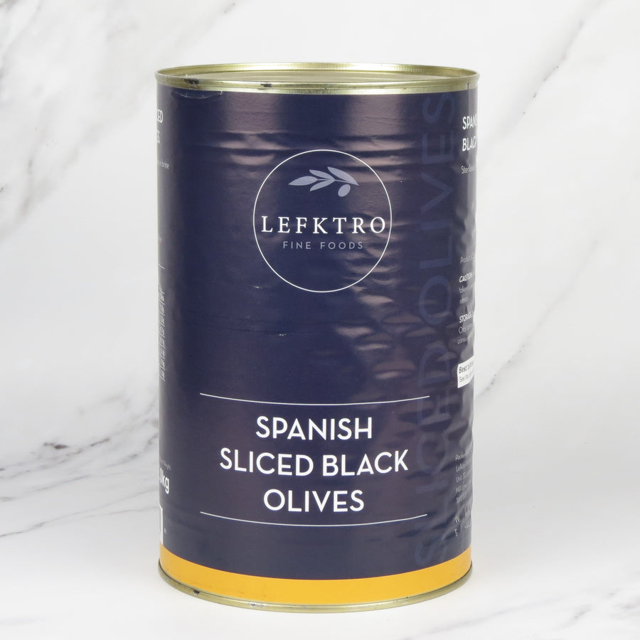 Sliced Spanish Black Olives - 5kg