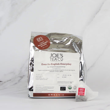 Joe's Organic English Breakfast Tea - 100 bags