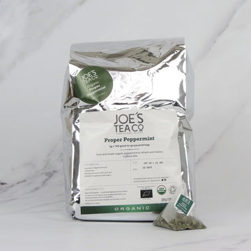 Joe's Organic Peppermint Tea - 100 bags