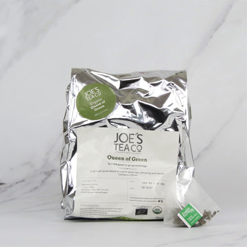 Joe's Organic Green Tea - 100 bags