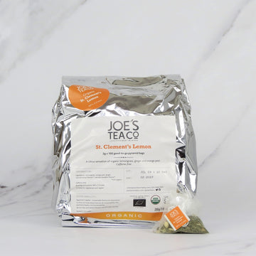 Joe's Organic Lemon & Ginger Tea - 100 bags