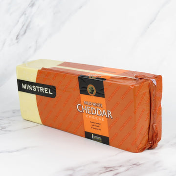 Mild White Cheddar Block - approx 5kg