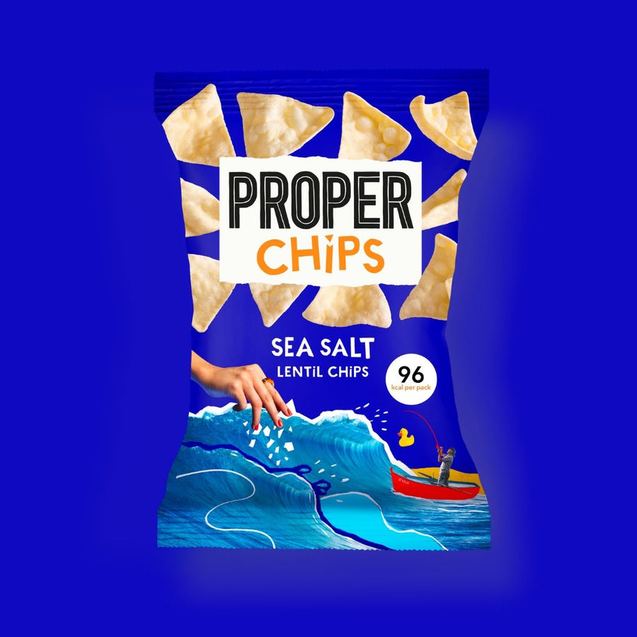 Sea Salt Properchips - 24 x 20g