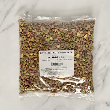 Raw Pistachio Nuts With Skin - 1kg