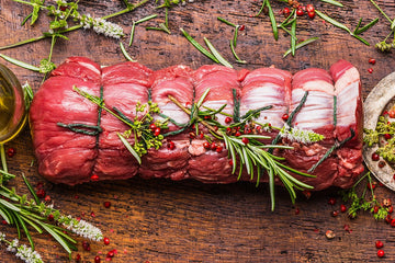 Rolled Topside Beef Joint - approx 2.5kg - Food Republic Services Ltd.