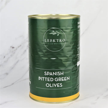 Green Pitted Olives - 5kg