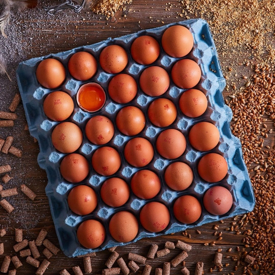 St Ewe Free Range Medium Eggs - Box 180
