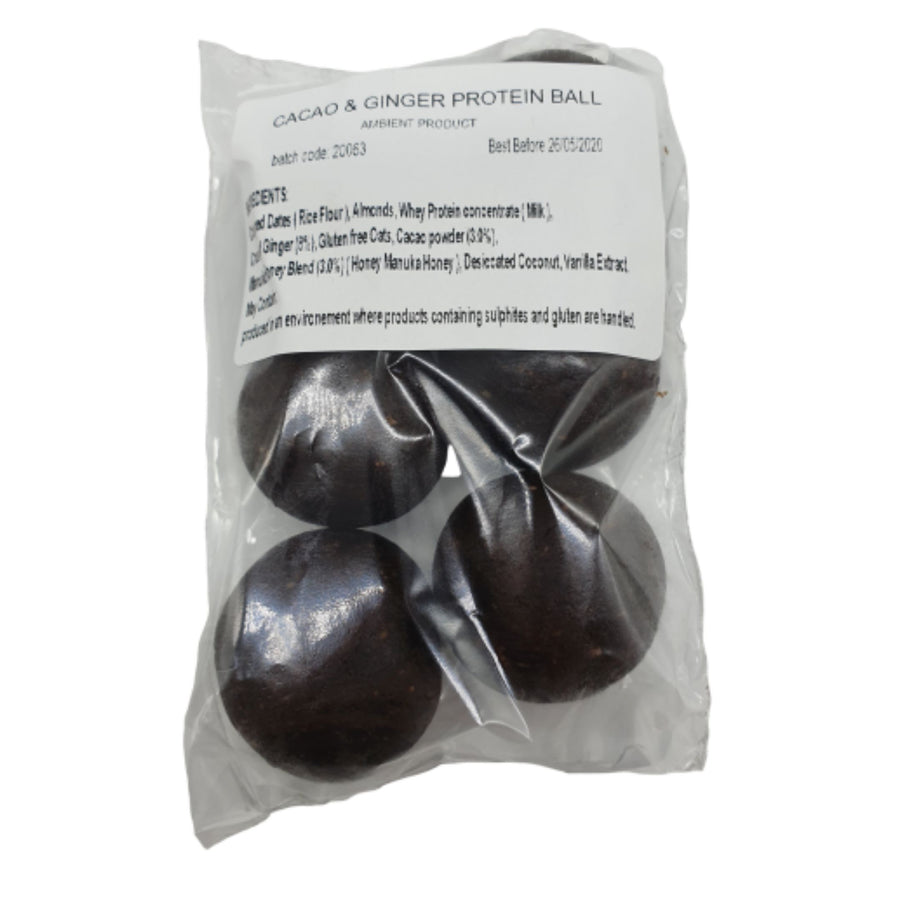 Protein Balls (Cacao & Almond) - 6 Balls - Food Republic Services Ltd.