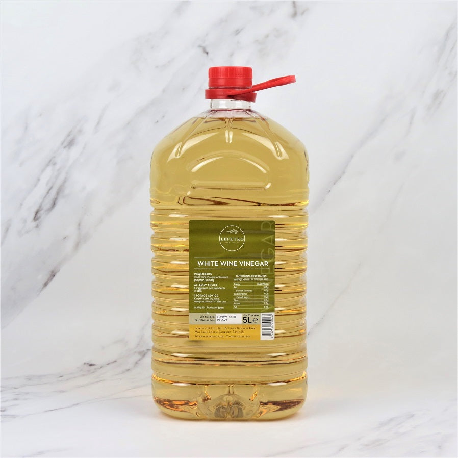 White Wine Vinegar - 5 Litre