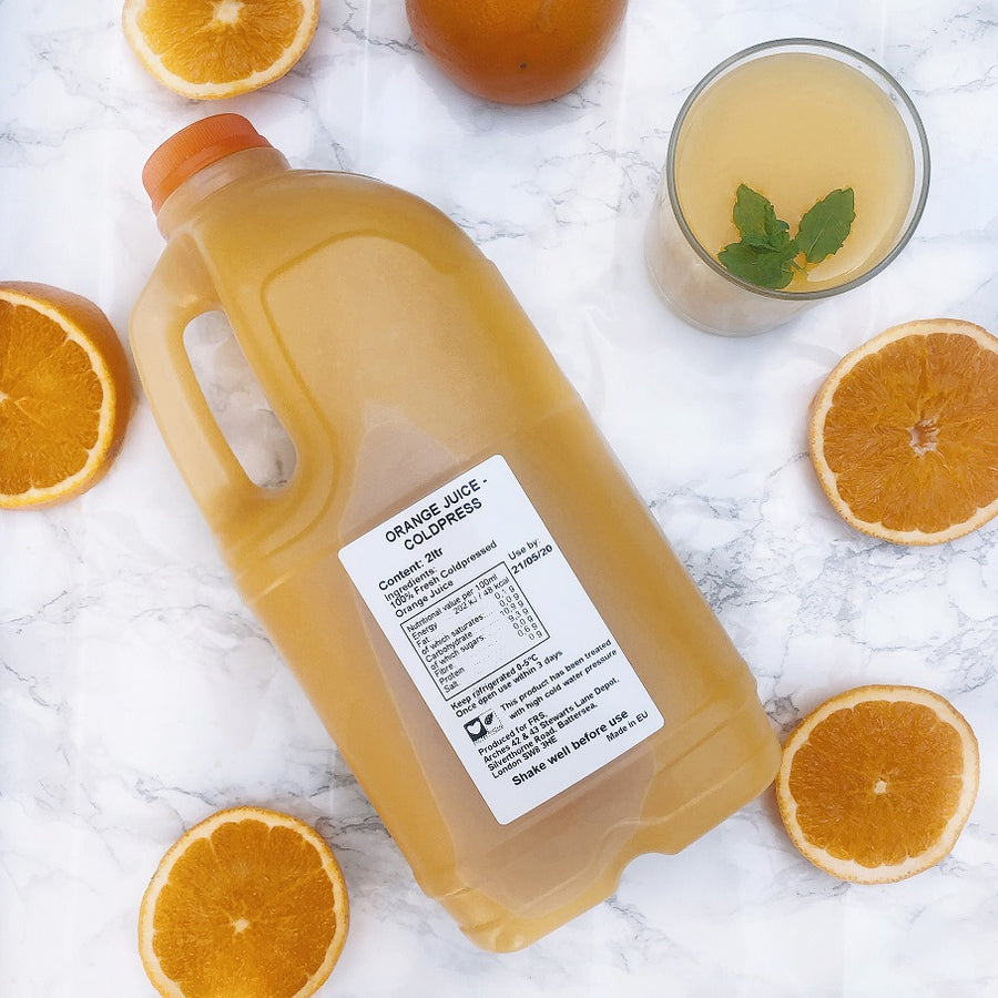 Coldpressed Orange Juice - 2Ltr - Food Republic Services Ltd.