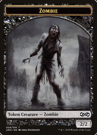 Zombie Token [Ultimate Masters Tokens] | Black Knight Games