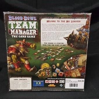 (PRE-PLAYED) Blood Bowl Team Manager: The Card Game | Black Knight Games