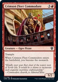 Crimson Fleet Commodore [Commander Legends] | Black Knight Games