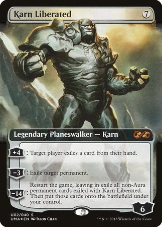 Karn Liberated [Ultimate Box Topper] | Black Knight Games