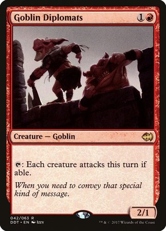 Goblin Diplomats [Duel Decks: Merfolk vs. Goblins] | Black Knight Games