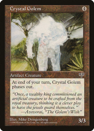 Crystal Golem [Mirage] | Black Knight Games