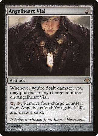 Angelheart Vial [Rise of the Eldrazi] | Black Knight Games