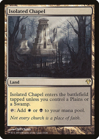Isolated Chapel [Modern Event Deck 2014] | Black Knight Games
