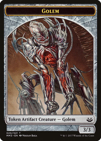 Golem Token [Modern Masters 2017 Tokens] | Black Knight Games