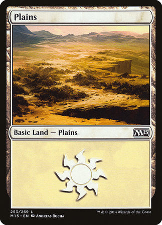 Plains (253) [Magic 2015] | Black Knight Games