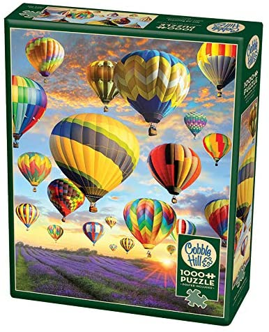 Cobble Hill Puzzles: Hot Air Ballons | Black Knight Games