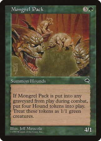 Mongrel Pack [Tempest] | Black Knight Games