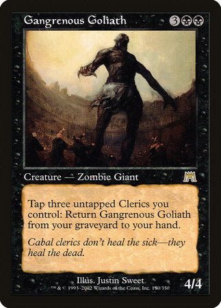Gangrenous Goliath [Onslaught] | Black Knight Games