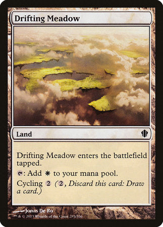 Drifting Meadow [Commander 2013] | Black Knight Games