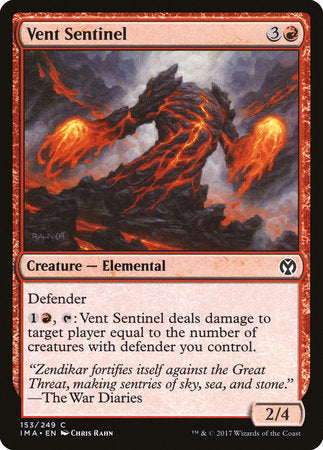 Vent Sentinel [Iconic Masters] | Black Knight Games