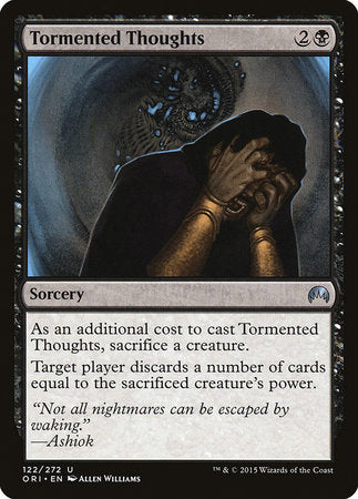 Tormented Thoughts [Magic Origins] | Black Knight Games