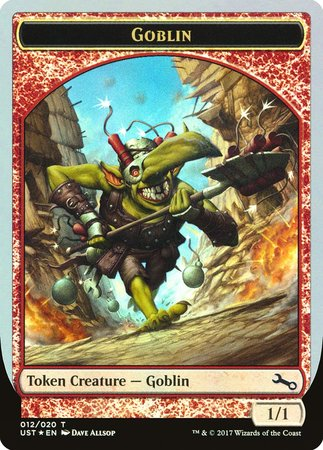 Goblin Token [Unstable Tokens] | Black Knight Games