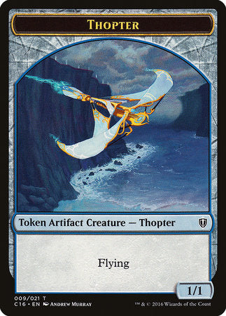 Thopter // Germ Double-sided Token [Commander 2016 Tokens] | Black Knight Games