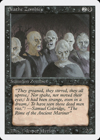 Scathe Zombies [Revised Edition] | Black Knight Games