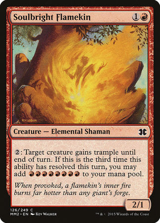 Soulbright Flamekin [Modern Masters 2015] | Black Knight Games