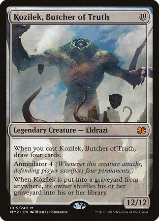 Kozilek, Butcher of Truth [Modern Masters 2015] | Black Knight Games